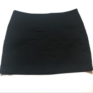 Express Black Stretch Mini Skirt Sz 4